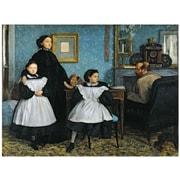 "Trademark Global Edgar Degas ""The Bellelli Family, 1858 67"" Canvas Art, 18"" x 24"""