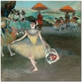 Trademark Global Edgar Degas in.Dancer with Bouquet, 1877in. Canvas Arts