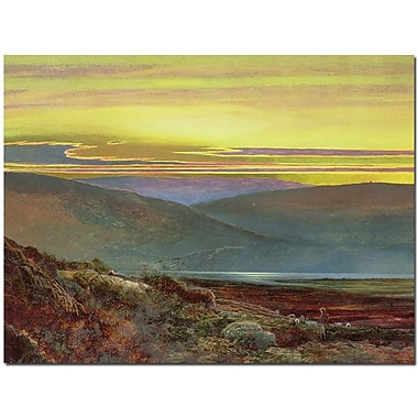 Trademark Global John Atkinson Grimshaw in.A Lake Landscape at Sunsetin. Canvas Arts