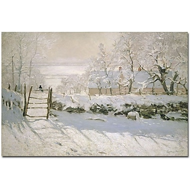 Trademark Global Claude Monet in.The Magpie, 1869in. Canvas Arts
