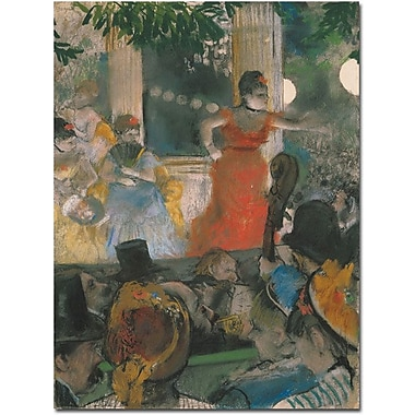 Trademark Global Edgar Degas in.Concert at Les Ambassadeurs, 1876in. Canvas Art, 24in. x 18in.
