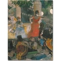 Trademark Global Edgar Degas in.Concert at Les Ambassadeurs, 1876in. Canvas Arts