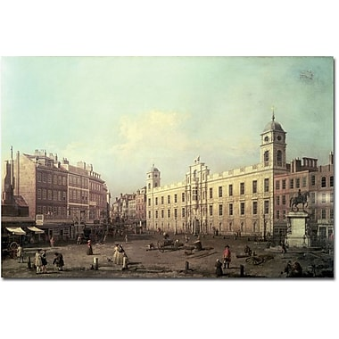 Trademark Global Canaletto in.Northumberland Housein. Canvas Arts