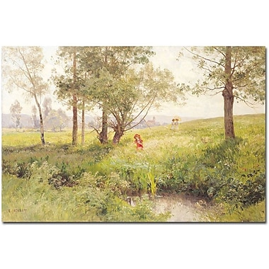 Trademark Global Emile Isenb in.Landscapein. Canvas Arts