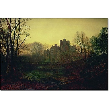 Trademark Global John Atkinson Grimshaw in.October Afterglow, 1871in. Canvas Art, 16in. x 24in.