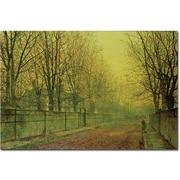 "Trademark Global John Atkinson Grimshaw ""In the Golden Glow of Autumn"" Canvas Art, 16"" x 24"""