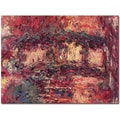 Trademark Global Claude Monet in.Japanese Bridge at Giverny 1923in. Canvas Art, 18in. x 24in.