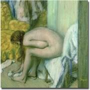 Trademark Global Edgar Degas After the Bath, 1886 Canvas Art, 24 x 24