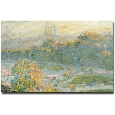 Trademark Global Claude Monet in.The Tuileriesin. Canvas Arts
