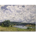 Trademark Global Alfred Sisley in.The Seine, Suresnes, 1877in. Canvas Art, 18in. x 24in.