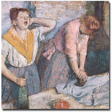 Trademark Global Edgar Degas in.The Laundresses, 1884in. Canvas Arts
