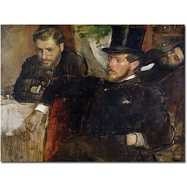 Trademark Global Edgar Degas in.Jeantaud, Linet and Laine, 1871in. Canvas Arts