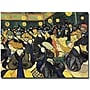 Trademark Global Vincent Van Gogh The Dance Hall