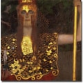 Trademark Global Gustav Klimt in.Minervain. Canvas Art, 18in. x 18in.