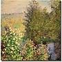 Trademark Global Claude Monet Corner of the Garden