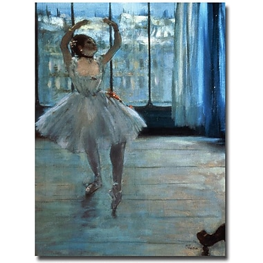 Trademark Global Edgar Degas in.Dancer in Front of a Windowin. Canvas Arts