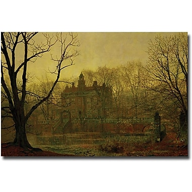 Trademark Global John Atkinson Grimshaw in.In the Gloaming, 1878in. Canvas Art, 16in. x 24in.