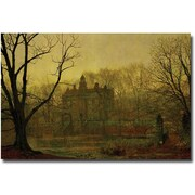 Trademark Global John Atkinson Grimshaw In the Gloaming, 1878 Canvas Art, 16 x 24