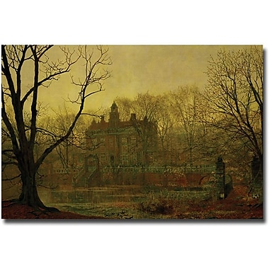 Trademark Global John Atkinson Grimshaw in.In the Gloaming, 1878in. Canvas Art, 30in. x 47in.