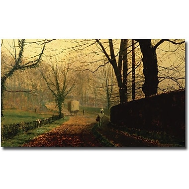 Trademark Global John Grimshaw in.Stapleton Park Near Pontefractin. Canvas Art, Museum Masters,30in.x47in.