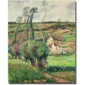 Trademark Global Camille Pissarro in.The Cabbage Slopes Pontoise, 1882in. Canvas Arts