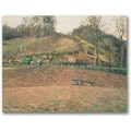 Trademark Global Camille Pissarro in.Ploughlandin. Canvas Arts