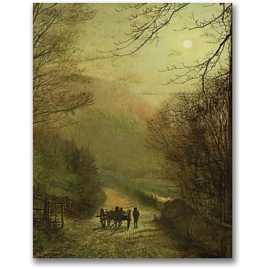Trademark Global John Atkinson Grimshaw in.Forge Valley Scarboroughin. Canvas Art, 32in. x 26in.