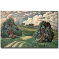 Trademark Global Carl Edvard Diriks in.Fauve Landscape 1910in. Canvas Arts