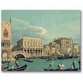 Trademark Global Canatello in.Bridge of Sighsin. Canvas Art, 18in. x 24in.