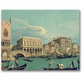 Trademark Global Canatello in.Bridge of Sighsin. Canvas Art, 24in. x 32in.