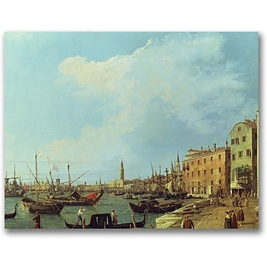 Trademark Global Canaletto in.The Riva Degli Schiavoniin. Canvas Arts