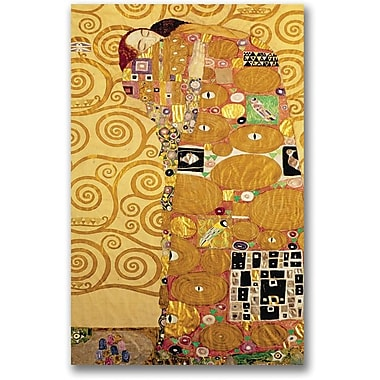 Trademark Global Gustav Klimt in.Fulfillmentin. Canvas Art, 30in. x 47in.