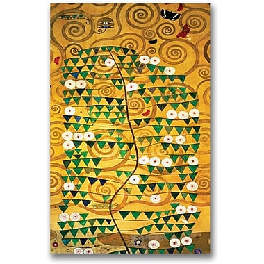 Trademark Global Gustav Klimt in.Tree of Lifein. Canvas Art, 47in. x 30in.