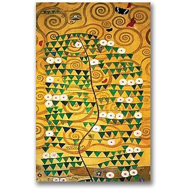 Trademark Global Gustav Klimt in.Tree of Lifein. Canvas Art, 47in. x 30in.