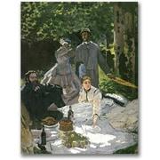 Trademark Global Claude Monet Dejeuner sur l'Herbe, Chailly Canvas Art, 32 x 24