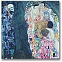 Trademark Global Gustave Klimt Death and Life Canvas