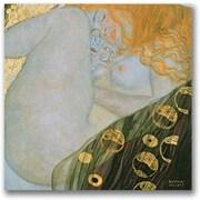 """Trademark Global Gustave Klimt """"Danae 1907 08"""" Canvas Art, 24"""" x 24"""""""