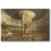 "Trademark Global Canatello ""Ranelagh Gardens"" Canvas Arts"