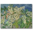 Trademark Global Vincent Van Gogh in.Blossoming Chesnut Branchesin. Canvas Art, 24in. x 32in.