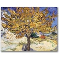 Trademark Global Vincent Van Gogh in.Mulberry Tree, 1889in. Canvas Arts