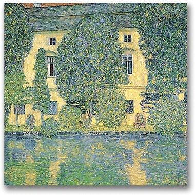 Trademark Global Gustav Klimt in.The Schloss Kammer on the Attersein. Canvas Arts