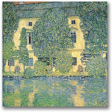 Trademark Global Gustav Klimt in.The Schloss Kammer on the Attersein. Canvas Art, 24in. x 24in.