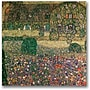 Trademark Global Gustav Klimt Country House Canvas Art,
