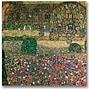Trademark Global Gustav Klimt Country House Canvas Art,