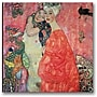 Trademark Global Gustav Klimt Woman Friends Canvas Art,