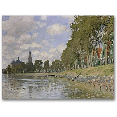 Trademark Global Claude Monet in.Zaandam, 1871in. Canvas Arts