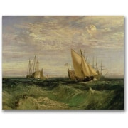 Trademark Global Joseph Turner The Confluence of the Thames Canvas Art, 35 x 47