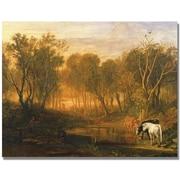 """Trademark Global Joseph Turner """"The Forest of Berer"""" Canvas Art, 18"""" x 24"""""""