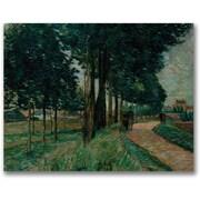 "Trademark Global Jean Baptiste Guillamin ""Maisons Alfort"" Canvas Art, 18"" x 24"""
