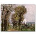 Trademark Global Jean Baptiste Guillamin in.Landscape in Francein. Canvas Art, 18in. x 24in.